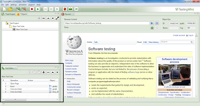 TestingWhiz performs on behalf of users