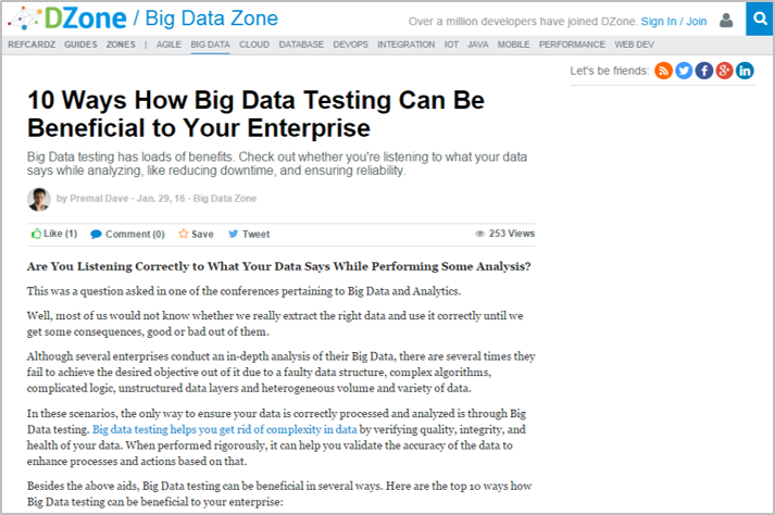 Why You Need to Invest in Big Data Testing